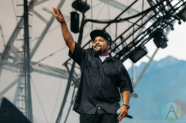 Ice Cube performing at the Pemberton Music Festival on July 16, 2016. (Photo: Steven Shepherd/Aesthetic Magazine)
