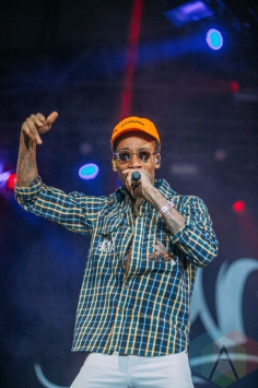 Wiz Khalifa performing at the Pemberton Music Festival on July 16, 2016. (Photo: Steven Shepherd/Aesthetic Magazine)