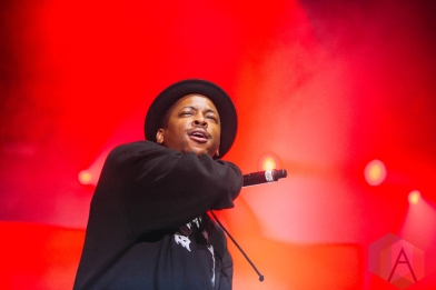 YG performing at the Pemberton Music Festival on July 16, 2016. (Photo: Steven Shepherd/Aesthetic Magazine)