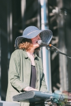 The New Pornographers performing at Rock The Shores on July 23, 2016. (Photo: Steven Shepherd/Aesthetic Magazine)