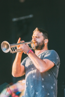 The Cat Empire performing at Rock The Shores on July 23, 2016. (Photo: Steven Shepherd/Aesthetic Magazine)