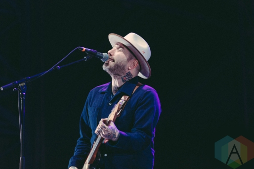 City and Colour performing at Rock The Shores on July 23, 2016. (Photo: Steven Shepherd/Aesthetic Magazine)