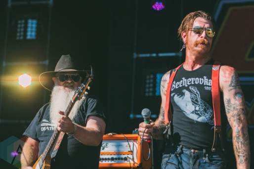 Eagles of Death Metal performing at Rock The Shores on July 24, 2016. (Photo: Steven Shepherd/Aesthetic Magazine)