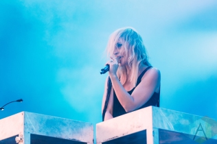 Metric performing at Rock The Shores on July 24, 2016. (Photo: Steven Shepherd/Aesthetic Magazine)