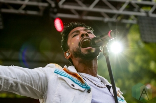 Miguel performing at the Pitchfork Music Festival in Chicago on July 17, 2016. (Photo: Kari Terzino/Aesthetic Magazine)