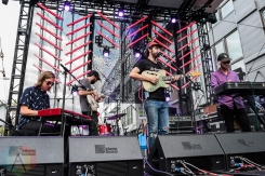 Mild High Club performing at the Capitol Hill Block Party in Seattle on July 22, 2016. (Photo: Kevin Tosh/Aesthetic Magazine)