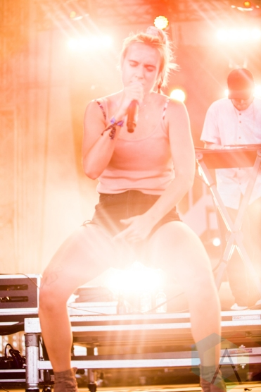 MØ performing at the Wayhome Music Festival on July 24, 2016. (Photo: Brandon Newfield/Aesthetic Magazine)