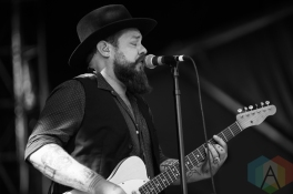 Nathaniel Rateliff and The Night Sweats performing at the Wayhome Music Festival on July 22, 2016. (Photo: Brandon Newfield/Aesthetic Magazine)