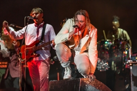 Arcade Fire performing at the Panorama Music Festival on Randall's Island in New York City on July 22, 2016. (Photo: Courtesy of Panorama Music Festival)