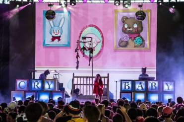 Melanie Martinez performing at the Panorama Music Festival on Randall's Island in New York City on July 23, 2016. (Photo: Courtesy of Panorama Music Festival)