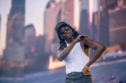 Blood Orange performing at the Panorama Music Festival on Randall's Island in New York City on July 23, 2016. (Photo: Courtesy of Panorama Music Festival)