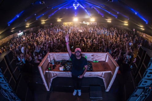 Jai Wolf performing at the Panorama Music Festival on Randall's Island in New York City on July 23, 2016. (Photo: Courtesy of Panorama Music Festival)