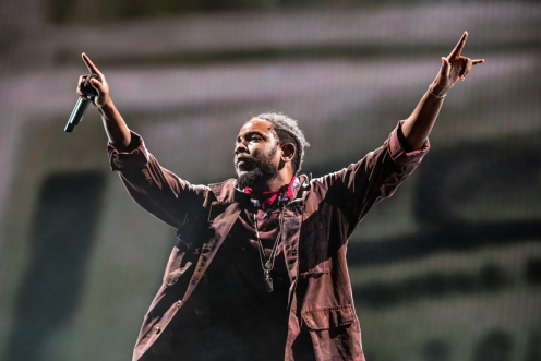 Kendrick Lamar performing at the Panorama Music Festival on Randall's Island in New York City on July 23, 2016. (Photo: Courtesy of Panorama Music Festival)