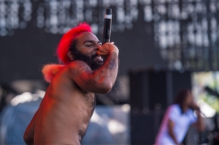 Flatbush Zombies performing at the Panorama Music Festival on Randall's Island in New York City on July 24, 2016. (Photo: Courtesy of Panorama Music Festival)