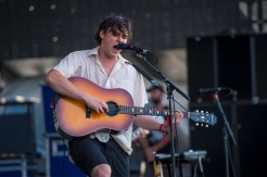 The Front Bottoms performing at the Panorama Music Festival on Randall's Island in New York City on July 24, 2016. (Photo: Courtesy of Panorama Music Festival)