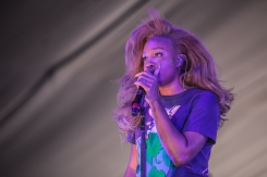 SZA performing at the Panorama Music Festival on Randall's Island in New York City on July 24, 2016. (Photo: Courtesy of Panorama Music Festival)