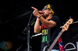 Pepper performing at Warped Tour 2016 at Jones Beach Theater in Long Island, New York on July 9, 2016. (Photo: Saidy Lopez/Aesthetic Magazine)