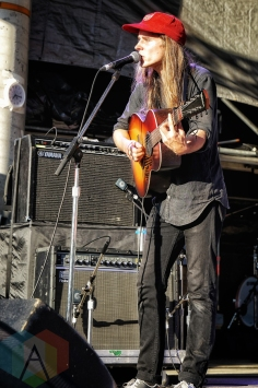 Andy Shauf performing at Hillside Festival on July 22, 2016. (Photo: Dan Fischer/Aesthetic Magazine)