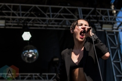 Savages performing at the Pitchfork Music Festival in Chicago on July 16, 2016. (Photo: Kari Terzino/Aesthetic Magazine)