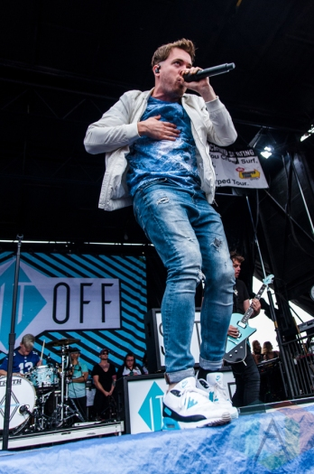 Set It Off performing at Warped Tour 2016 at Jones Beach Theater in Long Island, New York on July 9, 2016. (Photo: Saidy Lopez/Aesthetic Magazine)