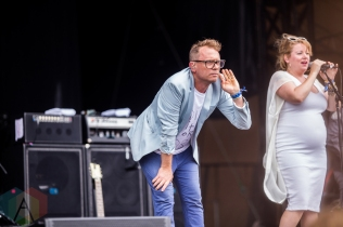 Stars performing at the Wayhome Music Festival on July 24, 2016. (Photo: Brandon Newfield/Aesthetic Magazine)