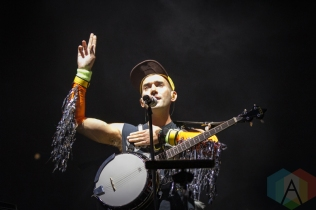Sufjan Stevens performing at the Pitchfork Music Festival in Chicago on July 16, 2016. (Photo: Kari Terzino/Aesthetic Magazine)