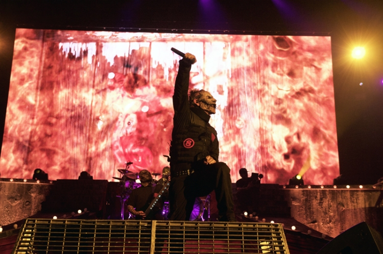slipknot performing at chicago open air on july 17 2016 photo