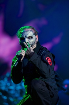 Slipknot performing at Chicago Open Air on July 17, 2016. (Photo: Chicago Open Air)
