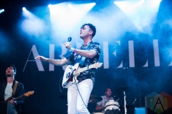 Arkells performing at the Wayhome Music Festival on July 23, 2016. (Photo: Brandon Newfield/Aesthetic Magazine)