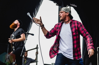 The Color Morale performing at Warped Tour 2016 at Jones Beach Theater in Long Island, New York on July 9, 2016. (Photo: Saidy Lopez/Aesthetic Magazine)