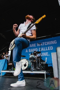 The Maine performing at Warped Tour 2016 at Jones Beach Theater in Long Island, New York on July 9, 2016. (Photo: Saidy Lopez/Aesthetic Magazine)