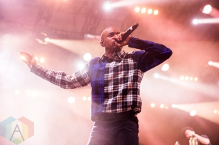 Vince Staples performing at the Wayhome Music Festival on July 23, 2016. (Photo: Brandon Newfield/Aesthetic Magazine)