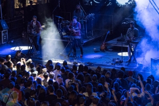 Washed Out performing at the Capitol Hill Block Party in Seattle on July 22, 2016. (Photo: Kevin Tosh/Aesthetic Magazine)