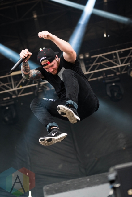 We Came As Romans performing at Chicago Open Air on July 17, 2016. (Photo: Katie Kuropas/Aesthetic Magazine)