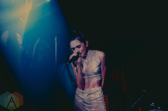 Crystalyne performing at the Smiling Buddha in Toronto on August 10, 2016 (Photo: Alexander Lam/Aesthetic Magazine)