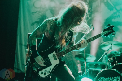 Skeletonwitch performing at the Rickshaw Theatre in Vancouver on August 19, 2016. (Photo: Timothy Nguyen/Aesthetic Magazine)
