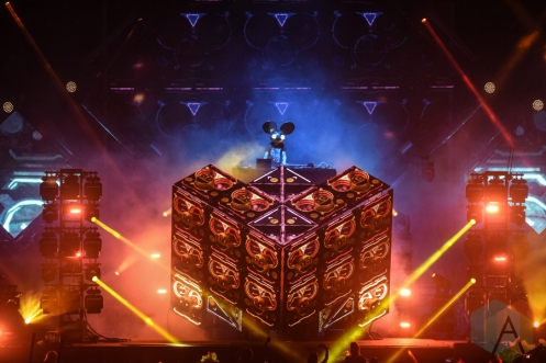 Deadmau5 performing at the VELD Music Festival in Toronto on July 30, 2016 (Photo: Jaime Espinoza/Aesthetic Magazine)