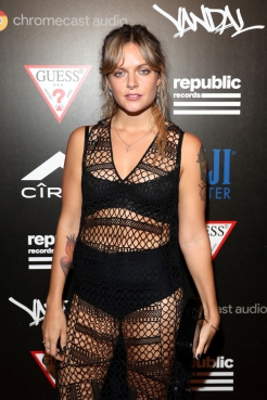 Tove Lo attends the Republic Records afterparty following the 2016 MTV Video Music Awards on August 28, 2016 at Vandal in New York City. (Photo: Rob Kim/Getty)