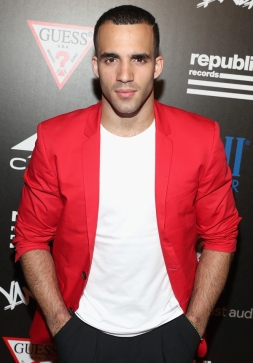 Gymnast Danell Leyva attends the Republic Records afterparty following the 2016 MTV Video Music Awards on August 28, 2016 at Vandal in New York City. (Photo: Rob Kim/Getty)