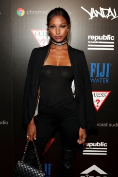 Jasmine Tookes attends the Republic Records afterparty following the 2016 MTV Video Music Awards on August 28, 2016 at Vandal in New York City. (Photo: Rob Kim/Getty)