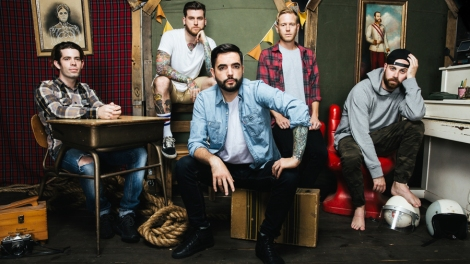 "Interview: A Day To Remember talks ""Bad Vibrations"", fave Blink-182 albums, and bad comments"