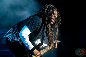 Korn performing at the Molson Amphitheatre in Toronto on August 23, 2016. (Photo: Adam Pulicicchio/Aesthetic Magazine)