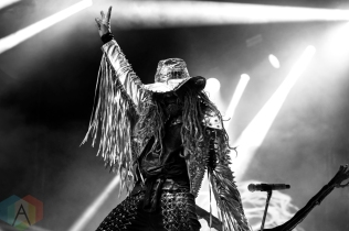 Rob Zombie performing at the Molson Amphitheatre in Toronto on August 23, 2016. (Photo: Adam Pulicicchio/Aesthetic Magazine)