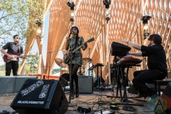 Adia Victoria performing at Pickathon 2016 in Happy Valley, Oregon on August 6, 2016. (Photo: Kevin Tosh/Aesthetic Magazine)
