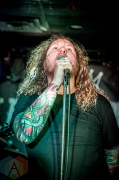 Ancress performing at the Hard Luck Bar in Toronto on August 5, 2016. (Photo: Brendan Albert/Aesthetic Magazine)
