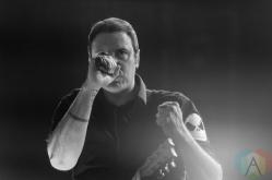 Breaking Benjamin performing at the Molson Amphitheatre in Toronto on August 8, 2016. (Photo: Julian Avram/Aesthetic Magazine)