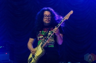 Best Coast performing at the Ravinia Pavilion in Highland Park, Illinois on August 19, 2016. (Photo: Katie Kuropas/Aesthetic Magazine)