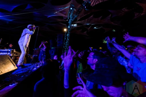 Boulevards performing at Pickathon 2016 in Happy Valley, Oregon on August 5, 2016. (Photo: Kevin Tosh/Aesthetic Magazine)