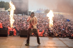 Boy Better Know performing at Leeds Festival on August 27, 2016. (Photo: Ben Gibson)