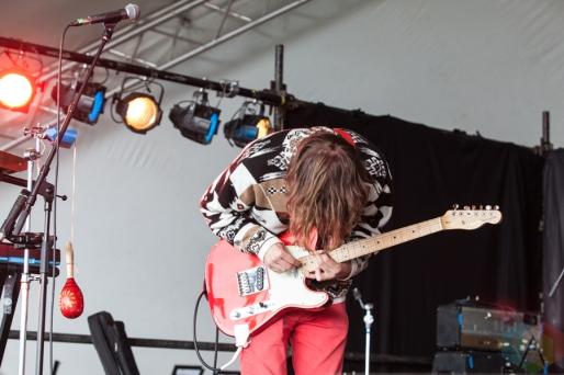 Castles performing at Leeds Festival on August 26, 2016. (Photo: Priti Shikotra/Aesthetic Magazine)